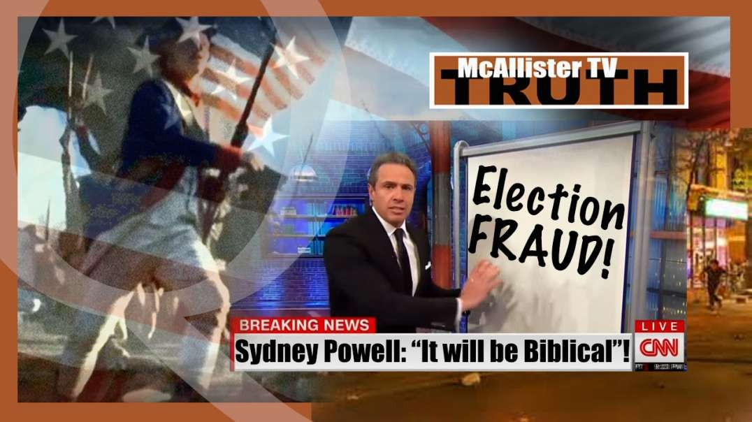 DEMOCRAT Propaganda Machine IMPLODING! POWELL Says BIBLICAL! 23-11-2020