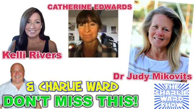 DR JUDY MIKOVITIS & KELI RIVERS CATHERINE EDWARDS TALK TO CHARLIE WARD DON'T MISS THIS 26-11-2020