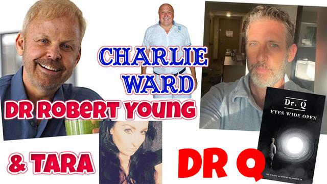 DR ROBERT YOUNG, DR Q,TARA DEAN WITH CHARLIE WARD – THE MAGIC OF WATER 13-11-2020