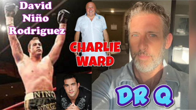 David Nino Rodriguez and Dr Q chat to Charlie Ward 10-11-2020