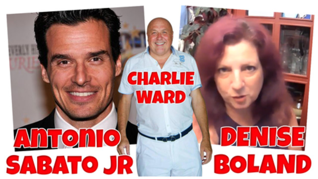 Denise Boland & Antonio Sabato Jr with Charlie Ward – History and now 9-11-2020
