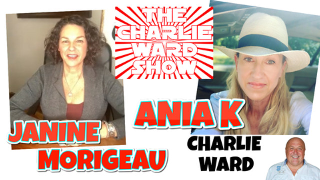 JANINE & ANIA DO TARROT CARD READINGS WITH CHARLIE WARD 17-11-2020