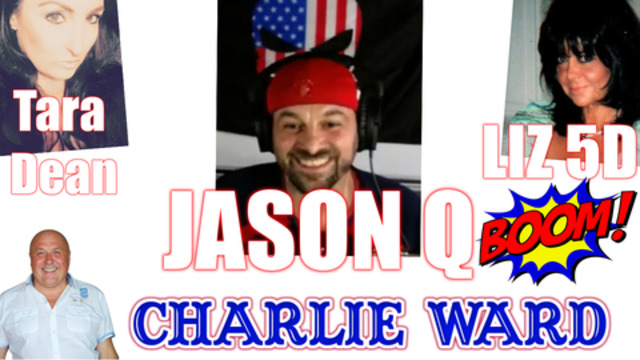 JASON Q TARA DEAN LIZ 5D TALK WITH CHARLIE WARD ABOUT CLONING, DNA AND MORE 18-11-2020