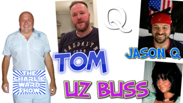 JASON Q , TOM NUMBERS LIZ BLISS WITH CHARLIE WARD DISCUSS THE LATEST NEWS DO NOT MISS OUT 27-11-2020