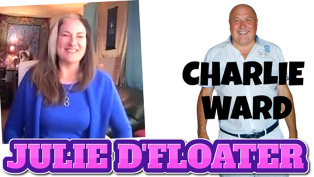 Julie D'Floater & Charlie Ward talk about cannabis, med beds and a whole lot more! subscribe now! 11-11-2020
