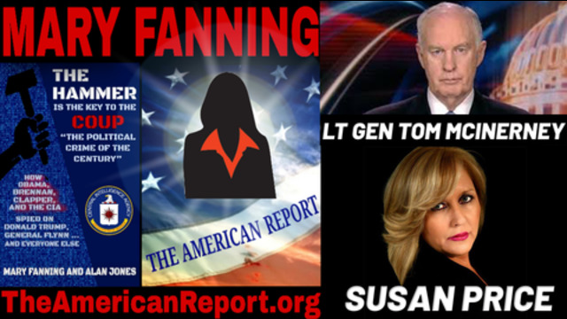 Lt. Gen Tom McInerney, Mary Fanning and Susan Price Join Charlie Ward to Discuss HAMMER & SCORECARD 11-11-2020