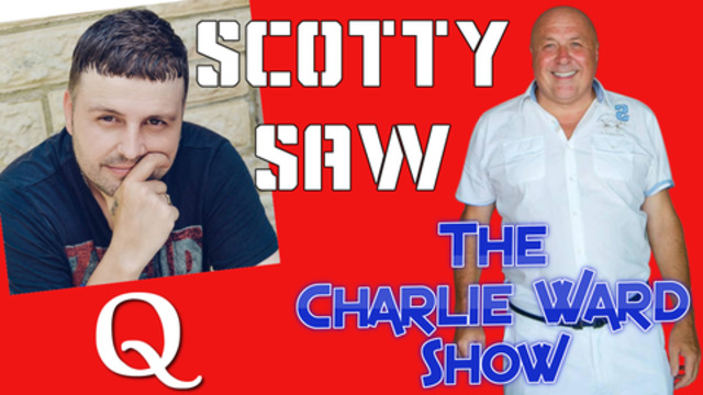 SCOTTY SAW SPEAK ABOUT GESARA VOTES TREASON AND MUCH MORE WITH CHARLIE WARD 24-11-2020
