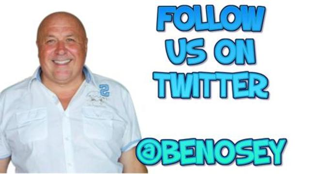 WE'RE ON TWITTER FOLLOW US THERE @BENOSEY 9-11-2020