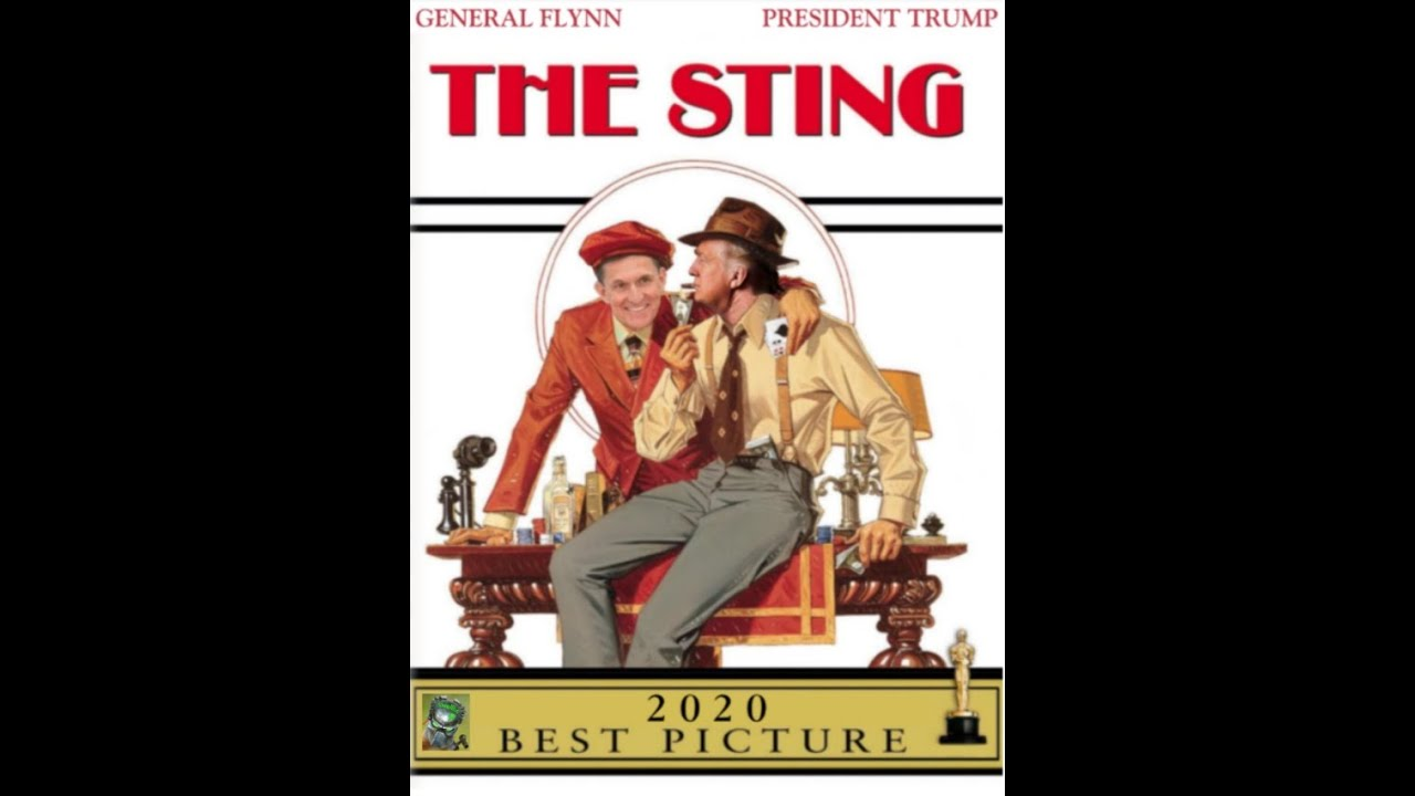 12/2/2020 – The Sting Stings! McInerney says TREASON -punishable by death! 2-12-2020