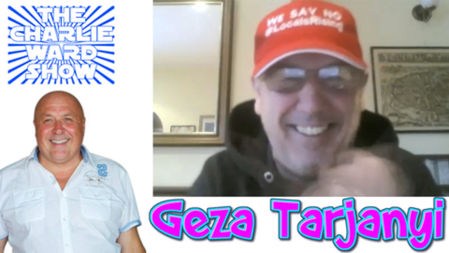 GEZA TARJANYI WITH CHARLIE WARD TALKS POLITICS AND MUCH MORE 9-12-2020