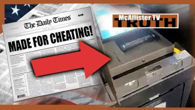 HEADLINES! Dominion Voting Machine MADE FOR CHEATING! Shape Shifting News Anchors! 15-12-2020