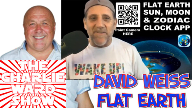 JOIN DAVID WEISS WITH CHARLIE WARD REGARDING FLAT EARTH 18-12-2020