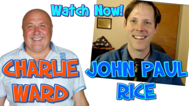 John Paul Rice Talks with Charlie Ward About Trump Media Religion and Much More 10-12-2020