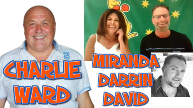 Join the Round Table with Miranda, Darrin & David With Charlie Ward 15-12-2020