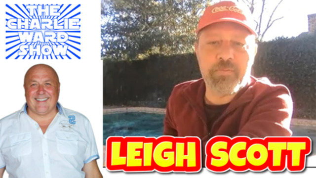 LEIGH SCOTT WITH CHARLIE WARD BY CHARLIE WARD 2-12-2020