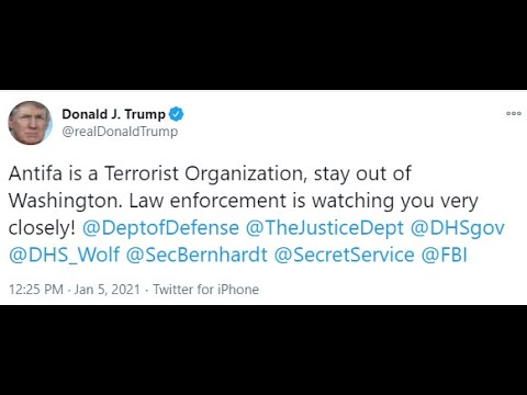 1/6/2021 – Trump Powerful Tweet! New Laws / EO Signed! Enjoy the Rally and Movie!! 6-1-2021