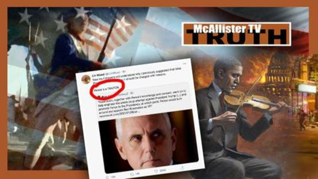 BREAKING…CIA, PENCE, OBAMA_Direct LINK To Election FRAUD! Mike Pence TRAITOR? 6-1-2021