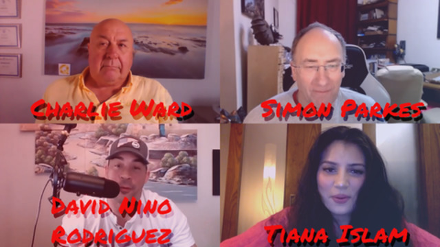 Charlie Ward, Simon Parkes, David Nino Rodriguez and Tiana Islam 21-1-2021