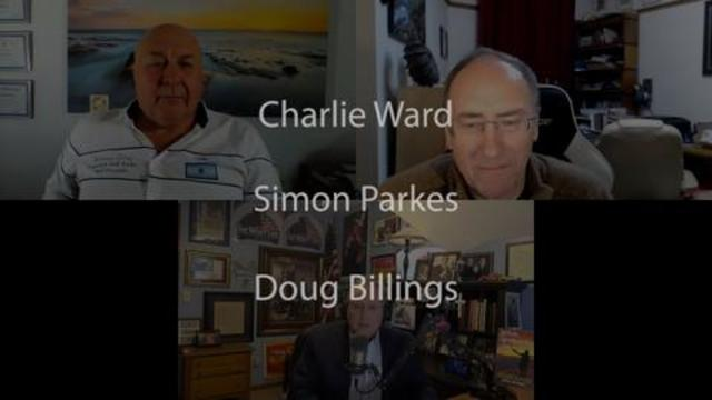 Charlie Ward Simon Parkes and Doug Billings 15-1-2021