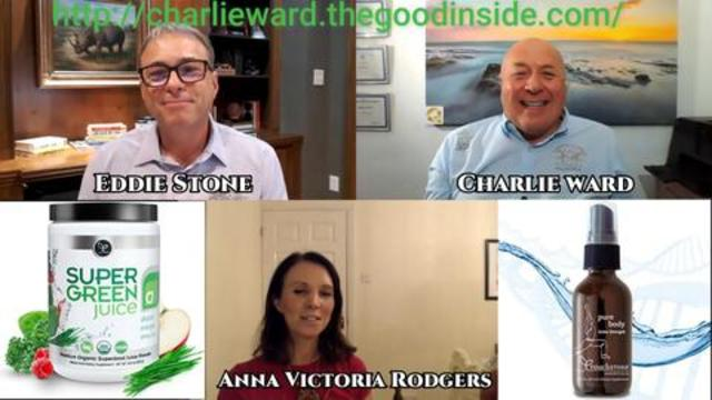 DETOXING HEAVY METALS WITH ZEOLITE NANO PARTICLES WITH EDDIE STONE, ANNA RODGERS & CHARLIE WARD QFS 12-1-2021
