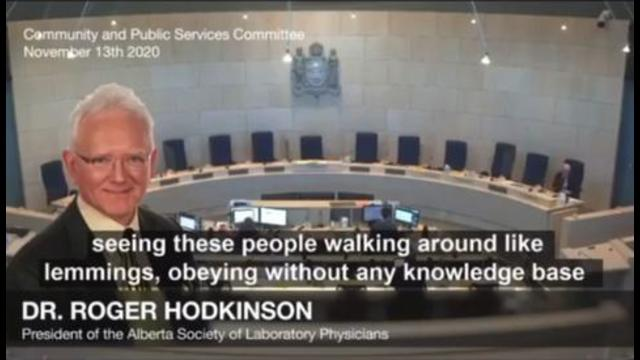 Dr. Roger Hodkinson  tells of COVID scam 16-1-2021