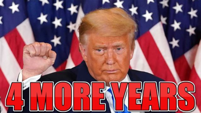 EXPLOSIVE WEEK AHEAD President Trump will serve 4 more years! 15-1-2021