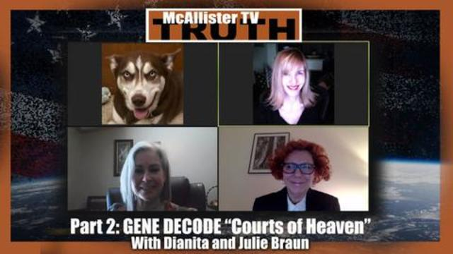 GENE DECODE PART 2: Dianita and Julie Braun Explain The COURTS OF HEAVEN Docs! 13-1-2021