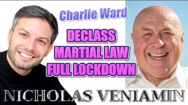 JOIN NICHOLAS VENIAMIN & CHARLIE FOR ANOTHER GREAT DISCUSSION FULL LOCK DOWN MARTIAL LAW, DECLASS 16-1-2021