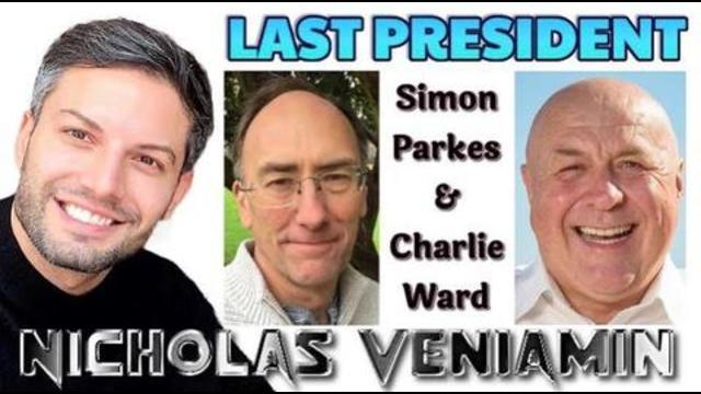 NICHOLAS VENIAMIN, SIMON PARKES WITH CHARLIE WARD – THE LAST PRESIDENT – NOT TO BE MISSED 9-1-2021