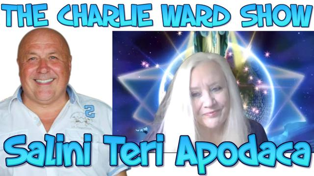 SALINI TERI APODAC & CHARLIE WARD EMERGING FROM THE MATRIX 19TH JAN 2021 22-1-2021