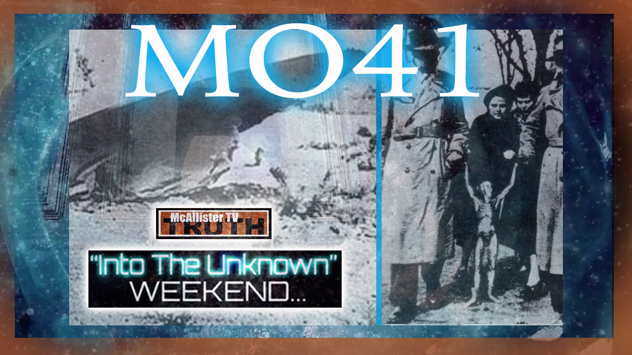 MO41…WILLIAM COOPER…HUMAN BODY PARTS FOUND AT ROSWELL! 24-1-2021