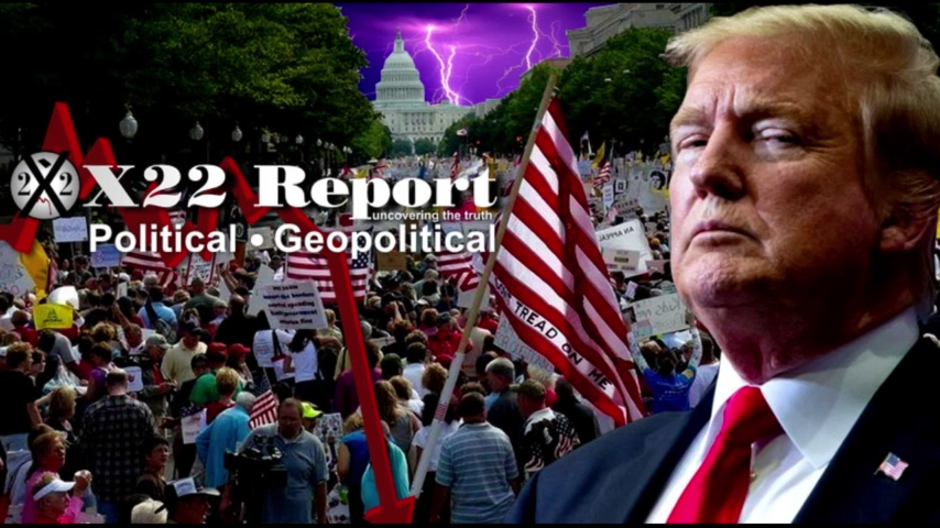 Trump, We The People Are The Storm, Watch What's Going To Be Revealed – Episode 2370b 5-1-2021