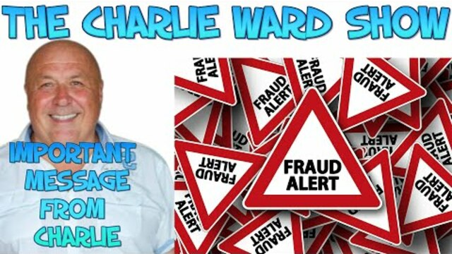 URGENT MESSAGE FROM CHARLIE 23-1-2021