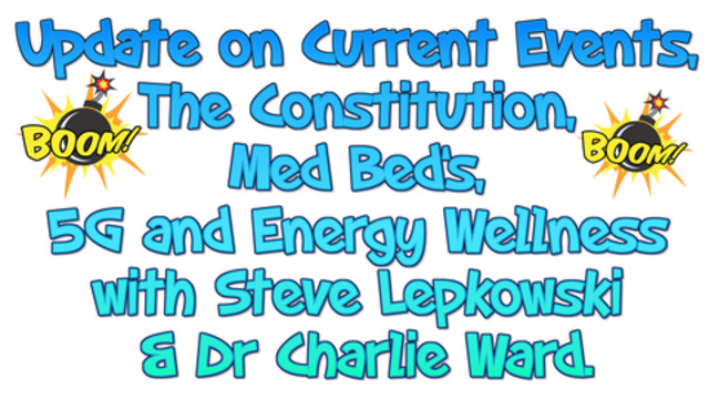 Update on Current Events, The Constitution, Med Bed's, 5G and Energy Wellness… 25-1-2021