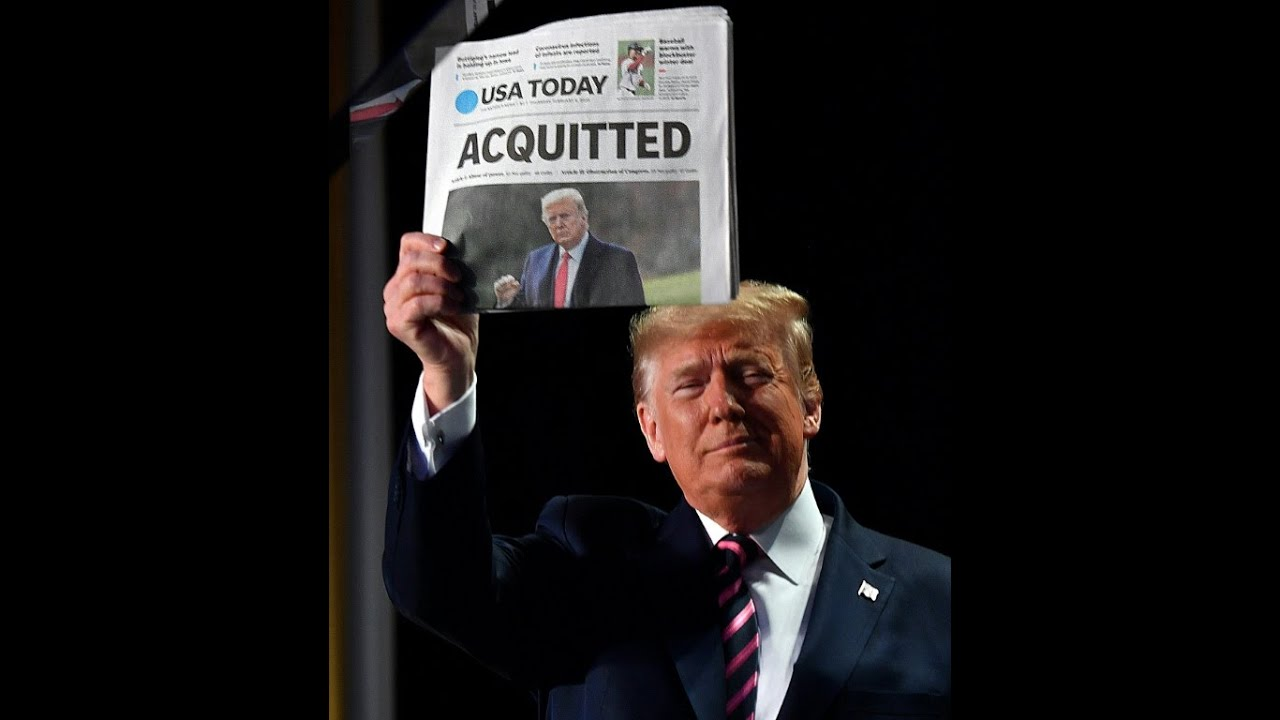 2/15/2021 – TRUMP's power move! Trump Acquitted! Mark torched CBS reporter! TRUMPSARA incoming! 15-2-2021