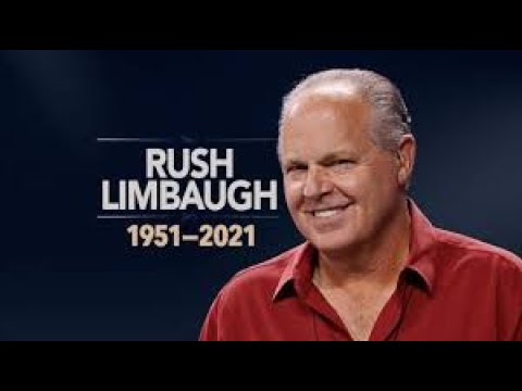 2/17/2021 In Memory of Rush Limbaugh – We will miss you! 17-2-2021