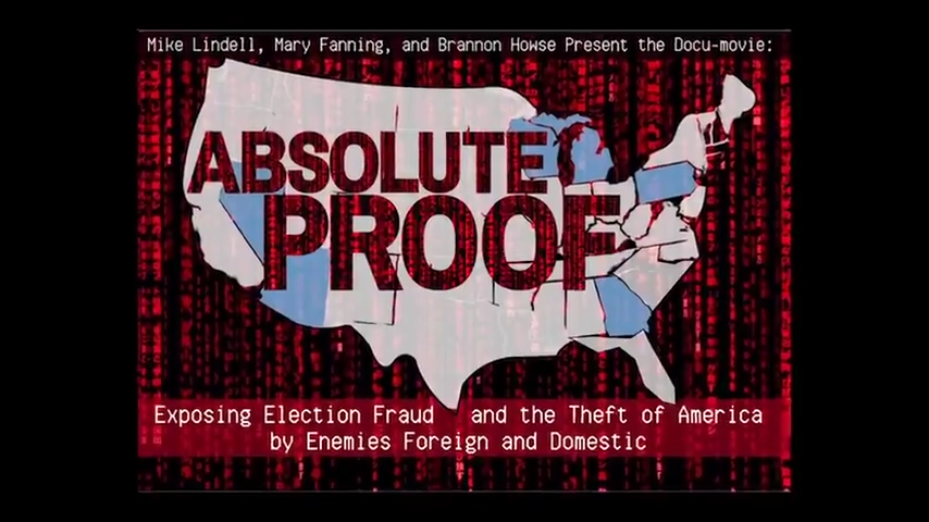 Lindell's Documentary, Absolute Proof Trump won the election 5-2-2021
