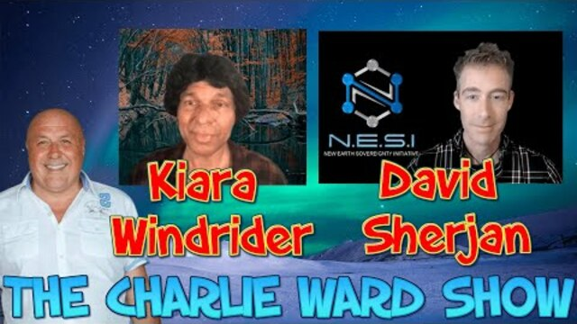CHARLIE WARD THE AGE OF PANDORA WITH DAVID SHERJAN & KIARA WINDRIDER 24-2-2021