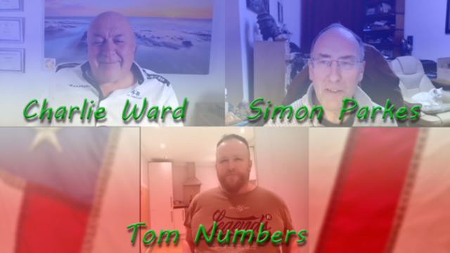 Charlie Ward, Simon Parkes and Tom Numbers 9-2-2021