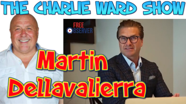 Charlie Ward – a truth-seeker with 10 million followers with Martin Dellavalierra 20-202021