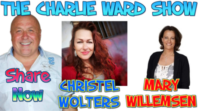 FREQUENCY TUNE UP WITH MARY WILLEMSEN CHRISTEL WOLTERS & CHARLIE WARD 20-2-2021