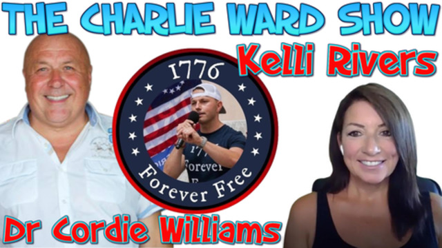 Get educated Your Constitutional Rights with Dr Cordie Williams , Kelli Rivers & Charlie Ward 12-2-2021