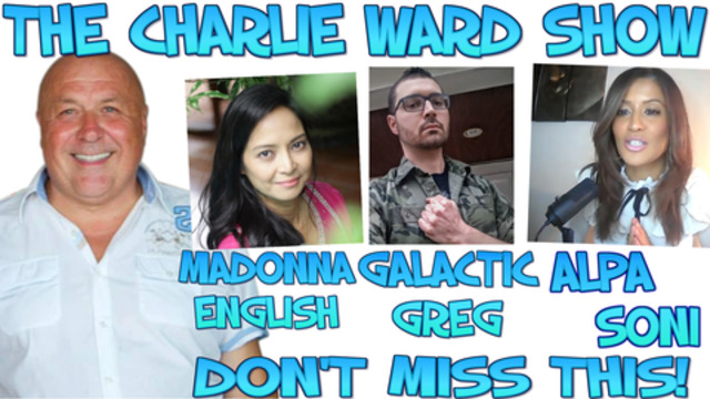 HIGH VIBES WITH CHARLIE WARD ALPA SONI GALACTIC GREG & MADONNA ENGLISH 18-2-2021