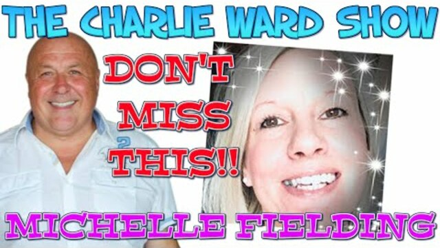 MICHELLE FIELDING & CHARLIE WARD FINALLY MEET ONLINE 5-2-2021