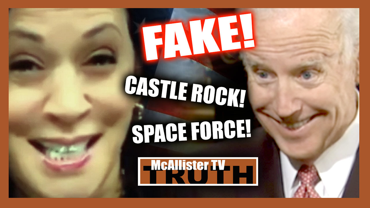 SPACE FORCE! RIGGED Election! NAZI Muppets Stoke CHAOS & PILLOW WARS! FAKE White House_CASTLE ROCK! 4-2-2021