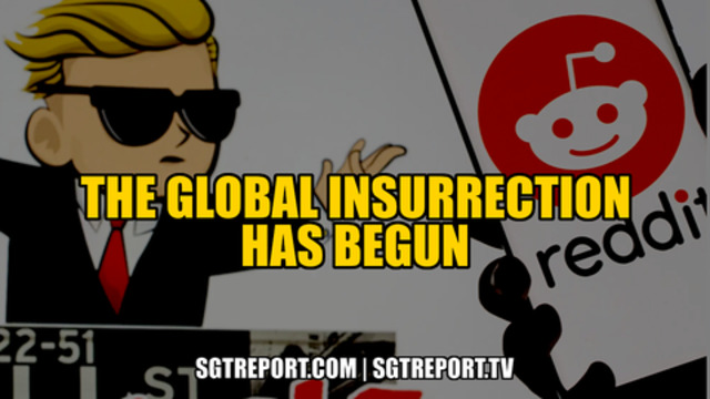 THE GLOBAL INSURRECTION HAS BEGUN 1-2-2021