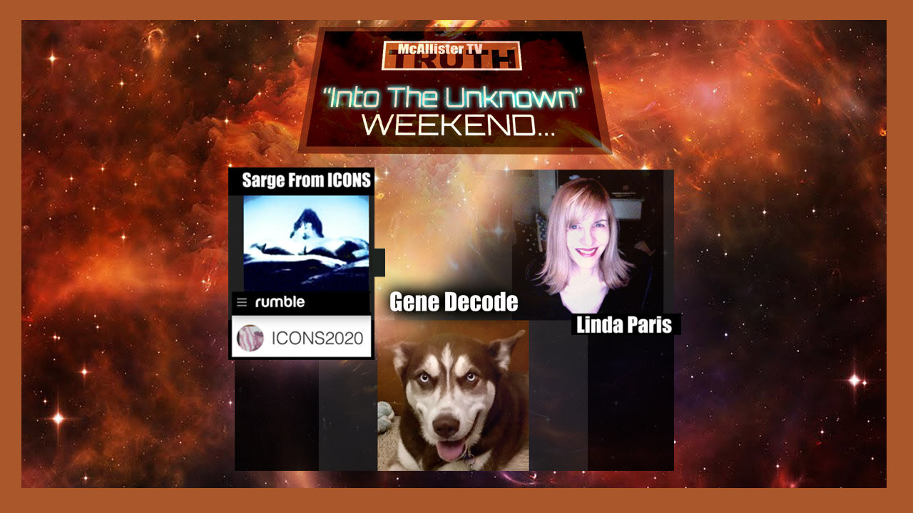 Into The Unknown WEEKEND (PART 2)…GENE DECODE And SARGE From ICONS! 14-3-2021