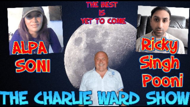 JOURNEY OF THE TRUTH WITH ALPA SONI RICKY SINGH POONI & CHARLIE WARD 3-3-2021
