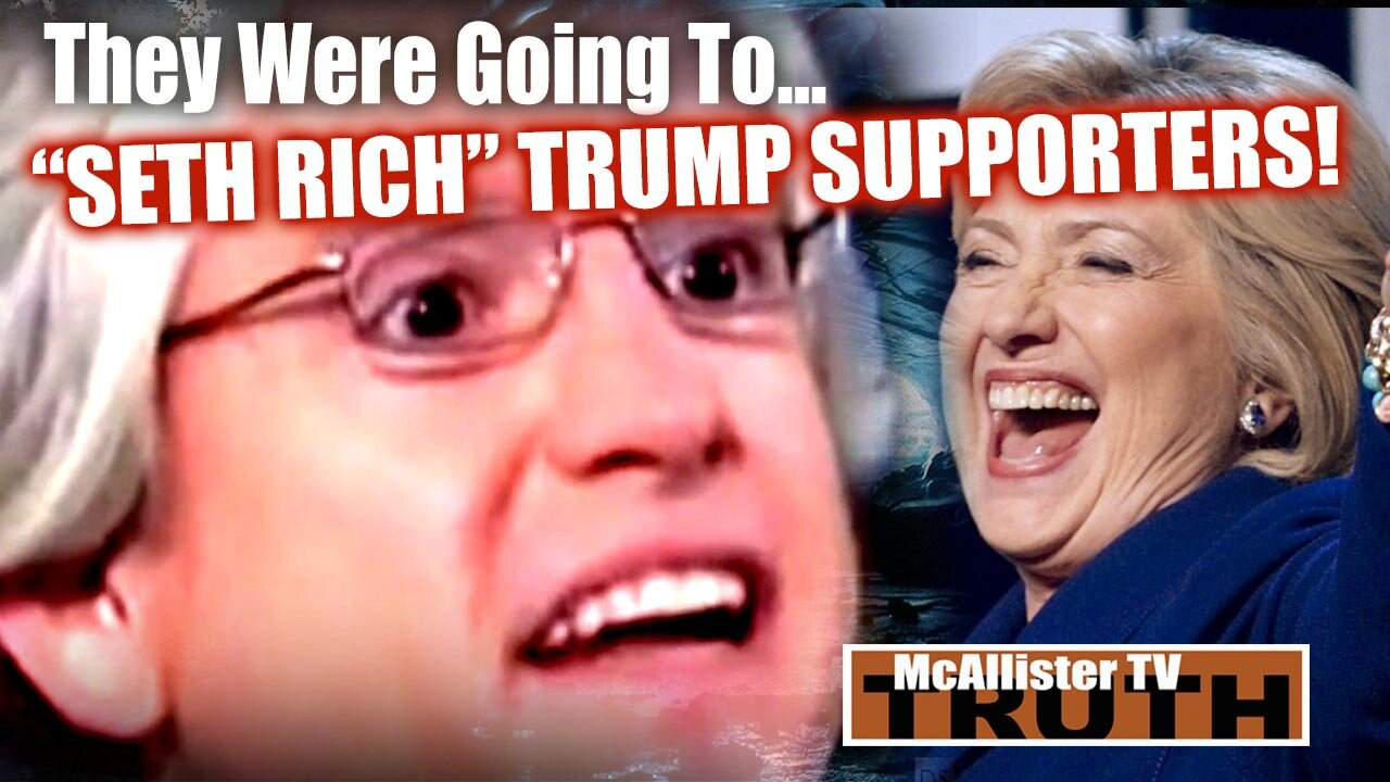 """McAllister Files…DAVID BROCK! SHARE BLUE! PLAN TO DOX AND """"SETH RICH"""" TRUMP SUPPORTERS! 10-3-2021"""