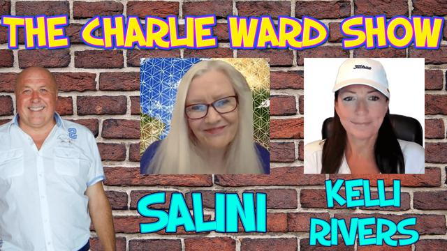 WALKING IN A DIVINE PLAN WITH KELLI RIVERS, SALINI TERI APODAC & CHARLIE WARD 31-3-2021